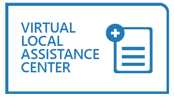 Virtual Local Assistance Center logo