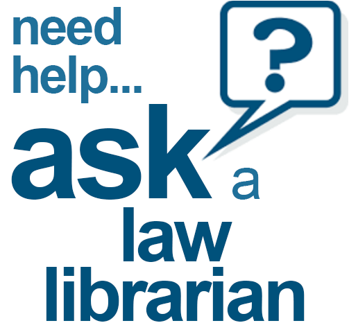 Ask law librarian image
