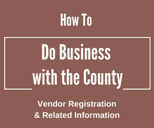 How to do business with county badge