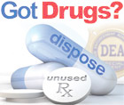 Taking Back Unwanted Drugs, Saturday, April 29, 2017