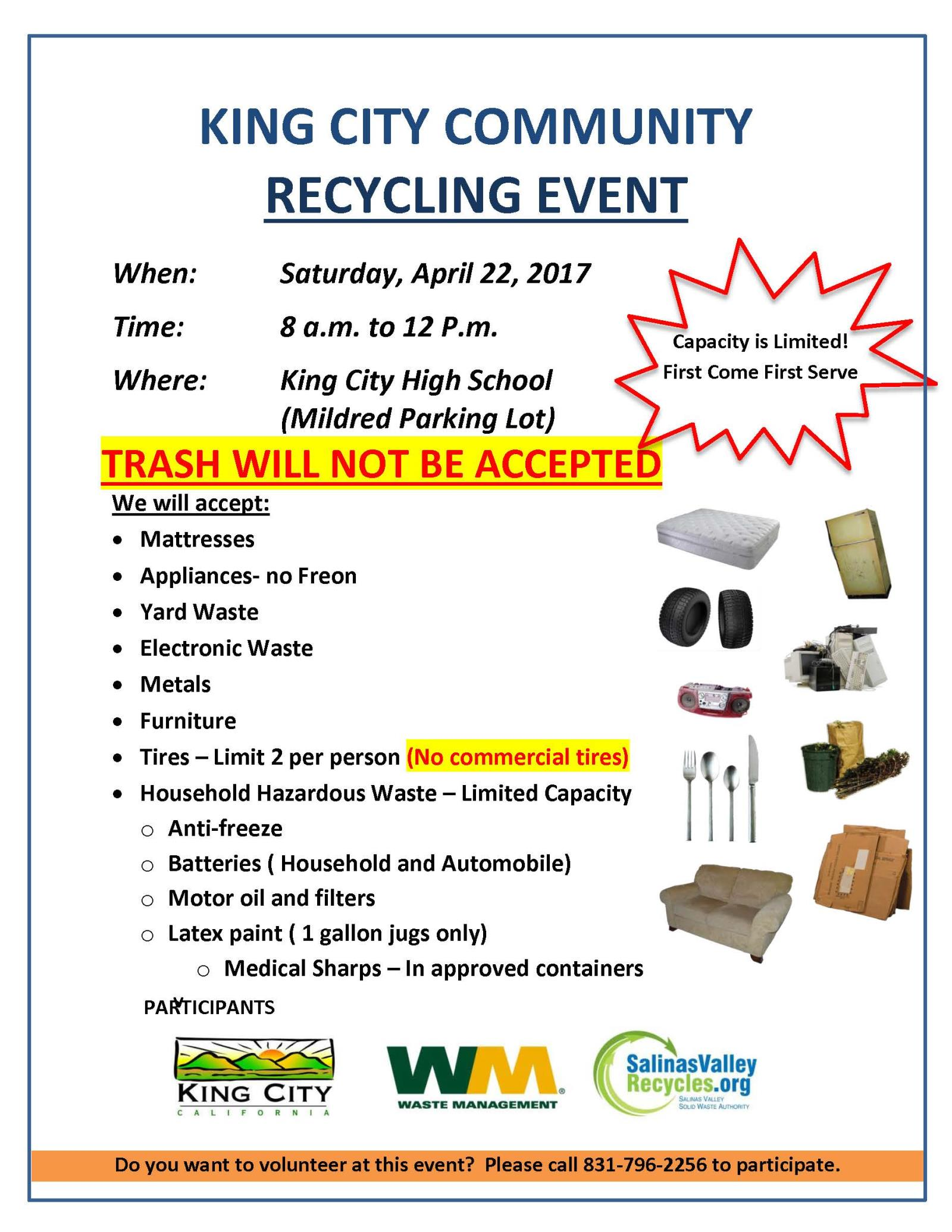 King City Community Recycle Event Flyer 4-22-2017 _Page_1