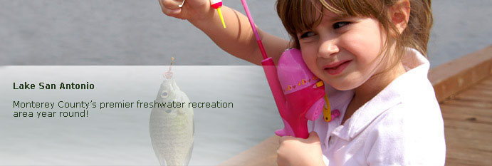 san antonio page banner of little girl fishing