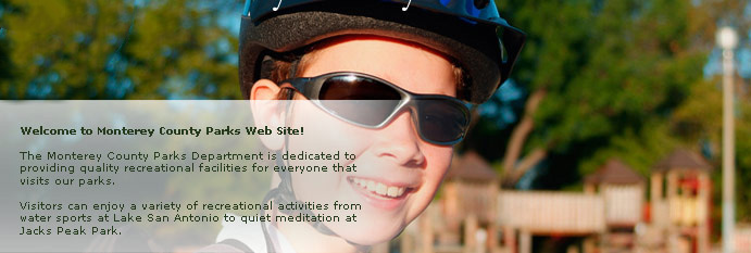 Main homepage banner of a young boy with helmet and sunglasses