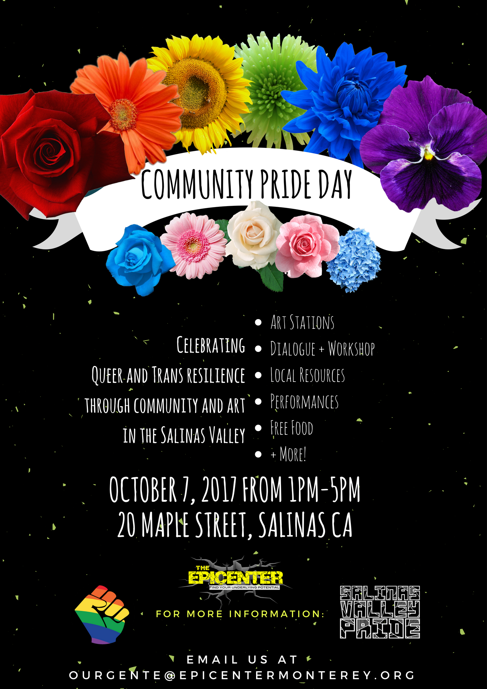The Epicenter and Salinas valley pride present (2)