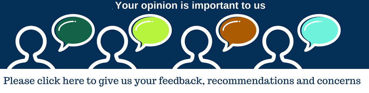 Your opinion is important to us