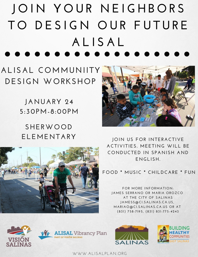 Alisal Community Design Workshop Flyer_Eng