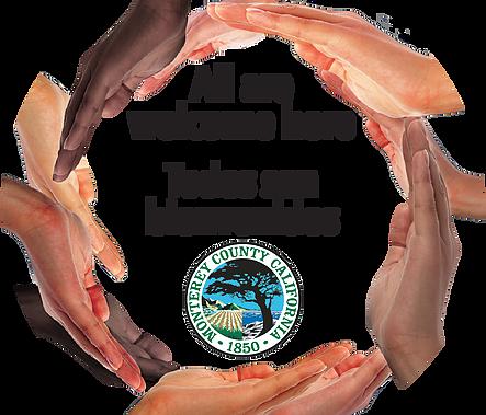 All are welcome here  Todos son bienvenidos