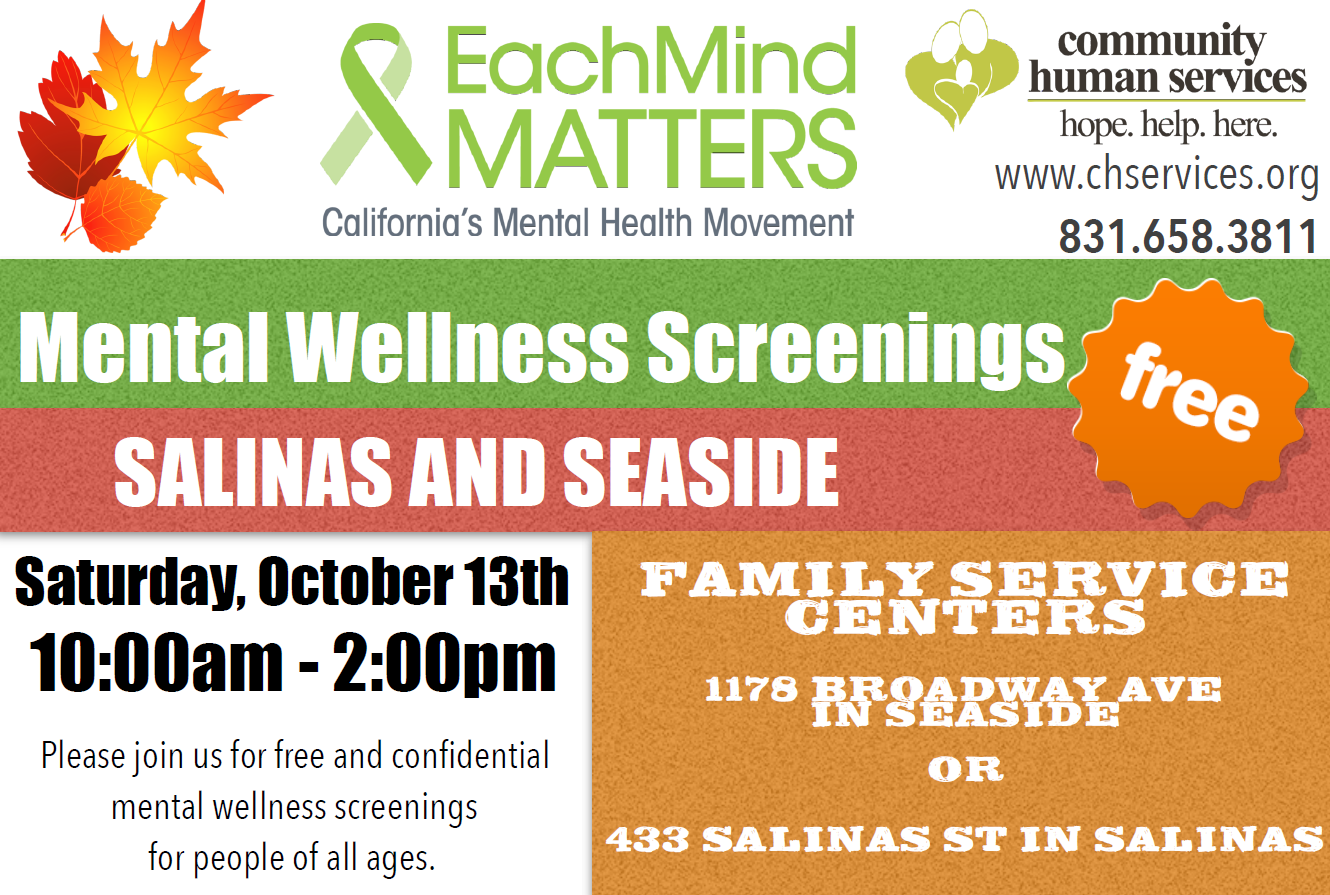 mental health screenings oct