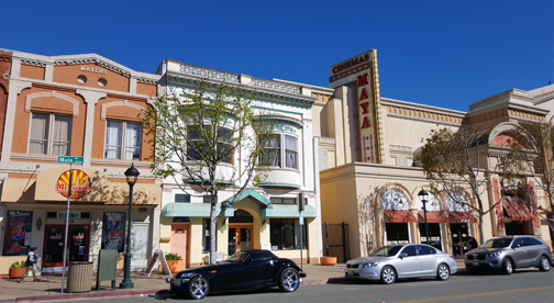 historic Salinas downtown main street