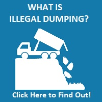 illegal dumping and littering button nt