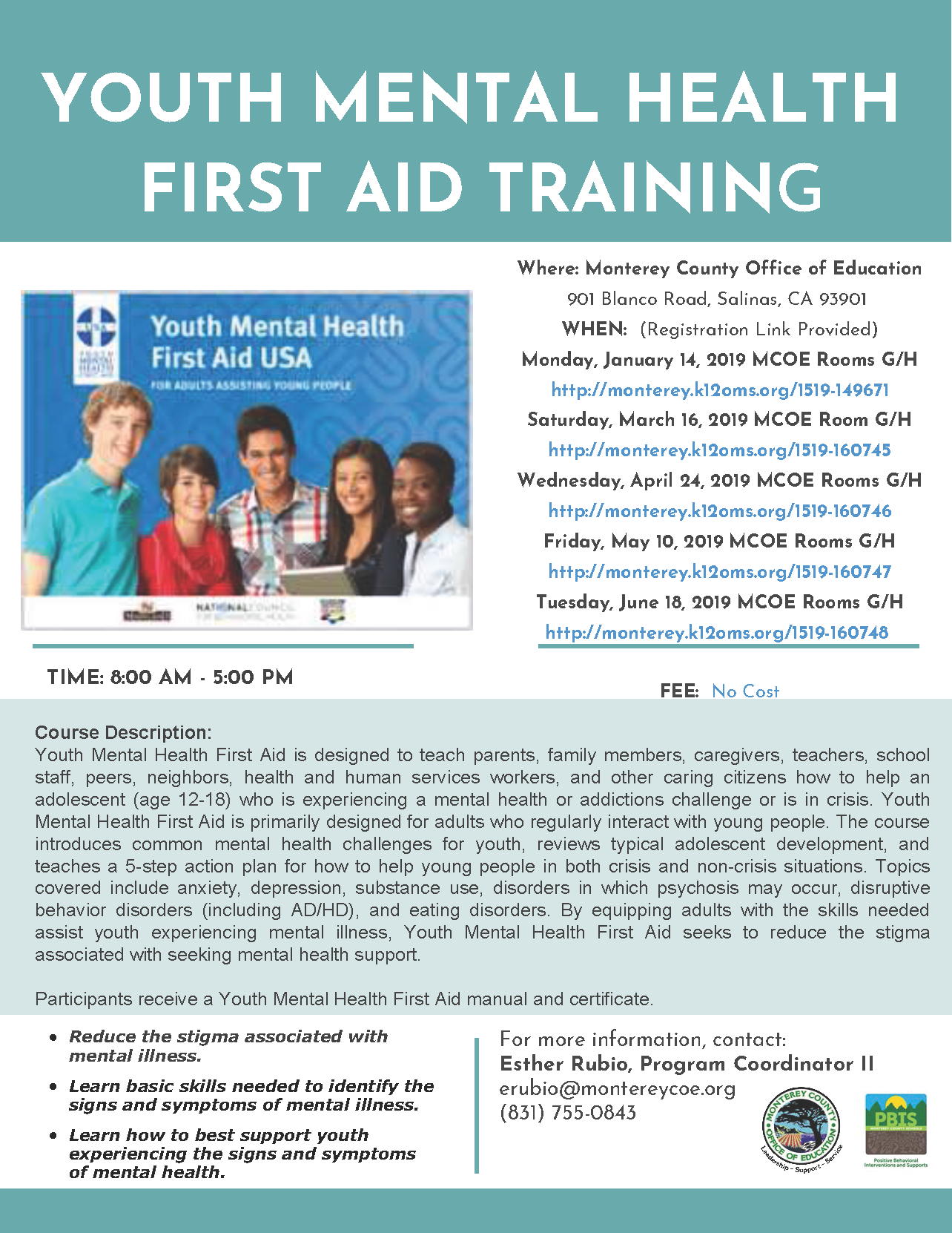 Monterey County Ca News Amp Information Youth Mental Health