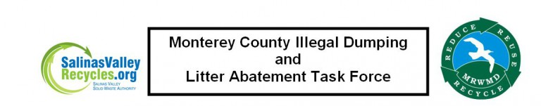 Monterey County Illegal Dumping and Litter Abatement Task Force Logo