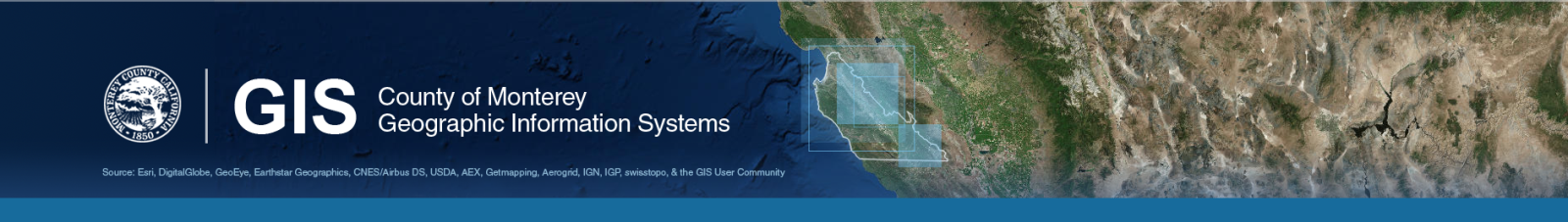 Monterey County CA  GIS Mapping  Data