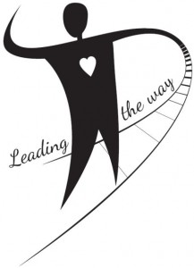 Leading the way logo