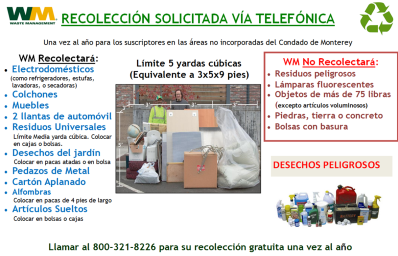 on_call_colllection_flyer_spanish