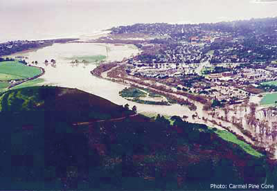 Photo of Carmel River, March 1995