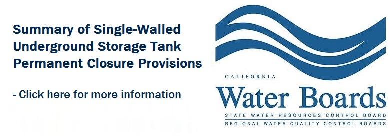 Underground Storage Tanks | Monterey County, CA