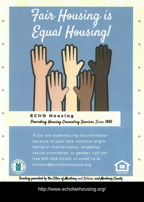 Housing Non Discrimination Echo Flyer Eng png