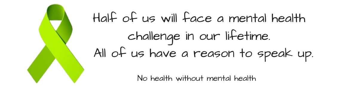 Half of us will face a mental health challenge in our life time
