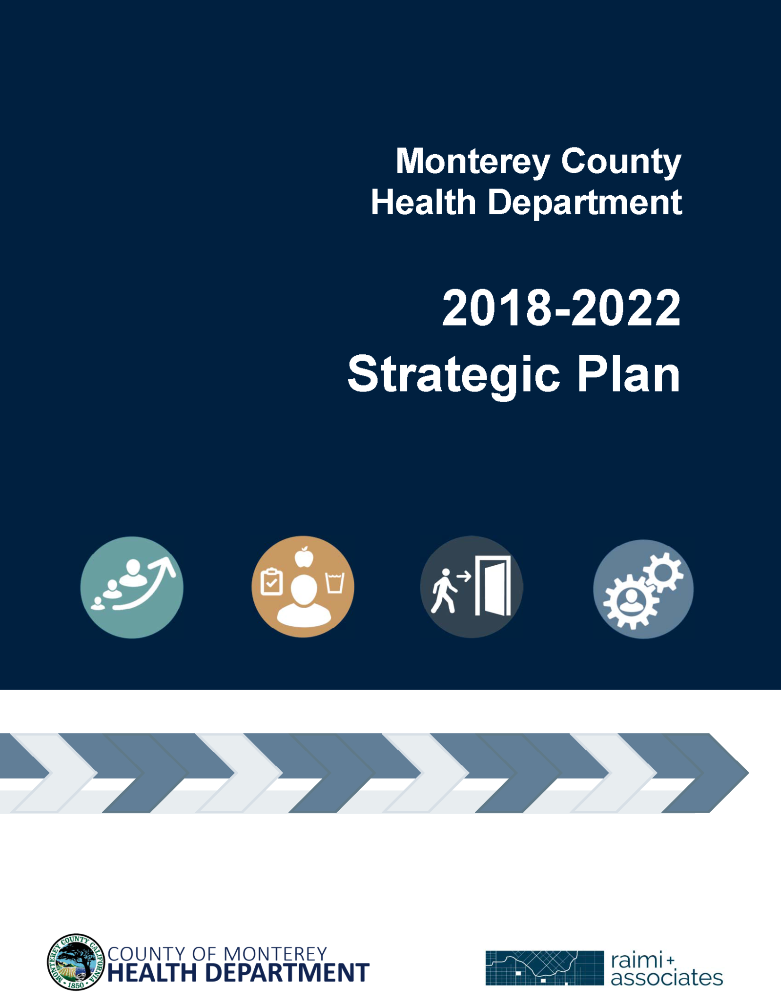 FINAL MCHD 2018-2022 Strategic Plan and Action Plan  Cover
