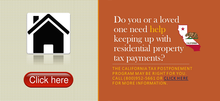 Property Tax assistance notice
