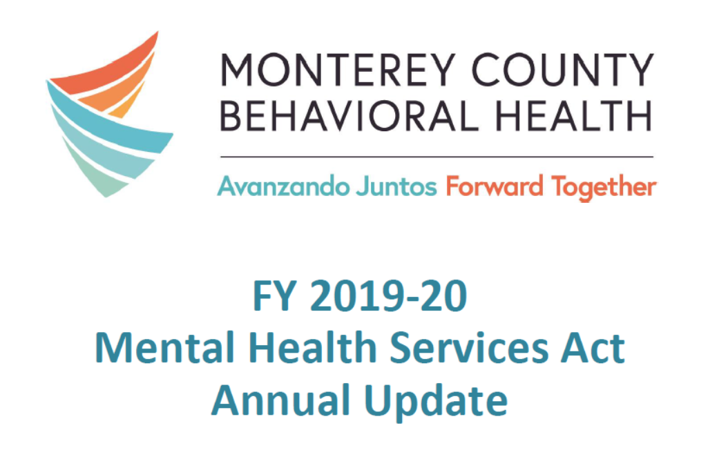 Cover FY1920 MHSA Update
