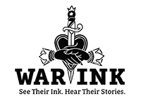WarInk. See their ink. Hear their stories.