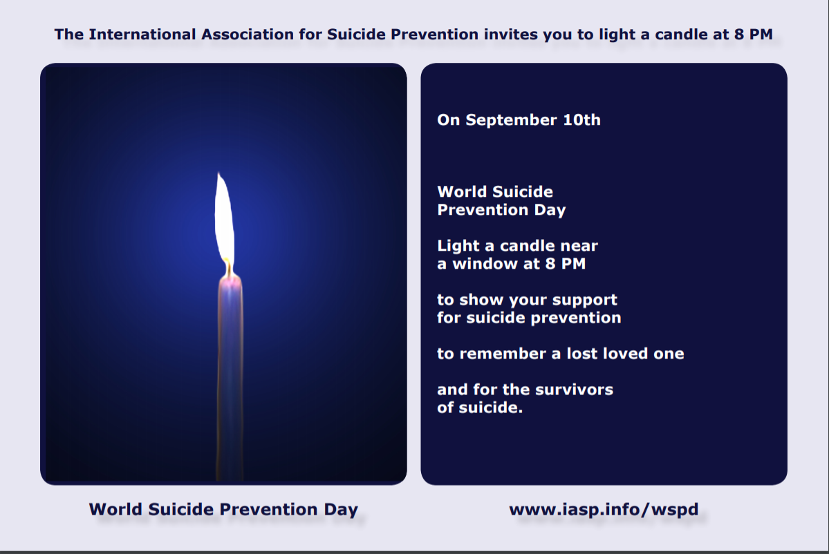 World Suicide Prevention Day | News & Information | Monterey