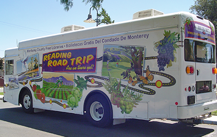 photo of book mobile