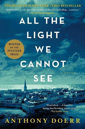 Book cover titled All the Light We Cannot See by Anthony Doerr