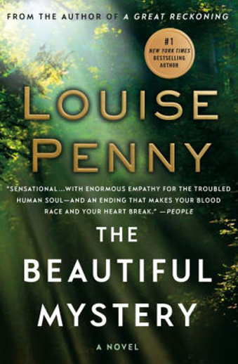 book cover Beautiful Mystery by Louise Penny
