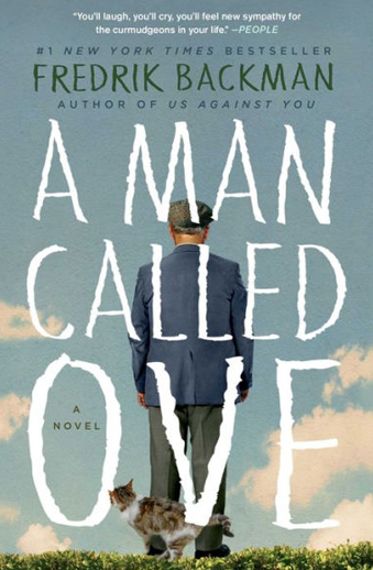 Book cover titled A Man Called Ove by Fredrik Backman