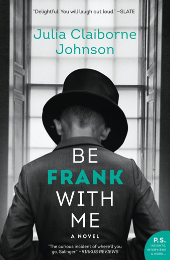 book cover Be Frank with me by Julia Johnson