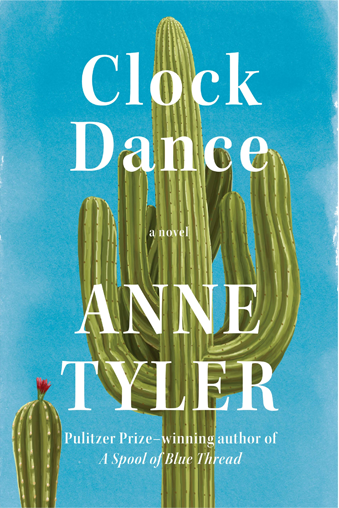 book cover Clock Dance: a novel by Anne Tyler