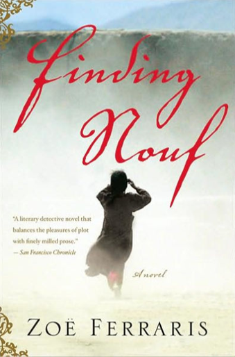 Book cover titled Finding Nouf by Zoe Ferraris