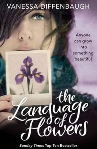 Book cover titled Language of Flowers by Vanessa Diffenbaugh