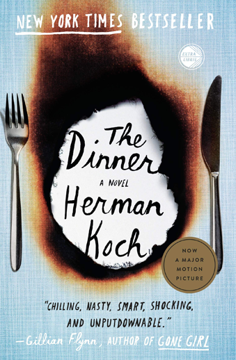 book cover The Dinner by Herman Koch