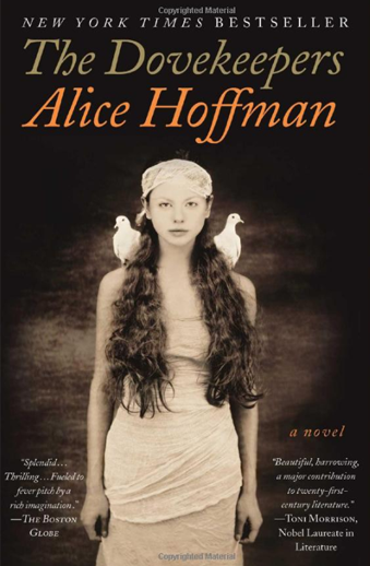 Book cover titled The Dovekeepers by Alice Hoffman
