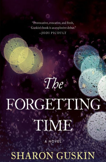 Book cover titled The Forgetting Time: a novel by Sharon Guskin