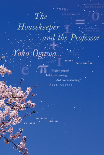 Book cover titled The Housekeeper and the Professor by Yoko Ogawa