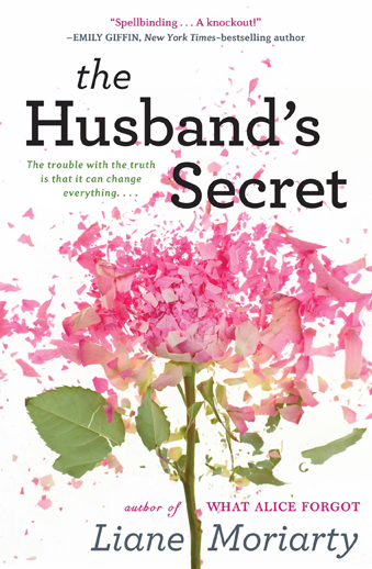 Book cover titled The Husband's Secret by Liane Moriarty