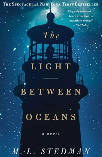 Book cover titled The Light Between Oceans: a novel by M. L. Stedman