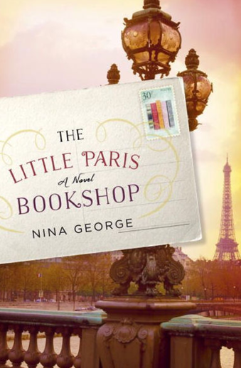 Book cover titled The Little Paris Bookshop: a novel by Nina George