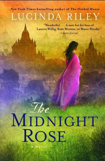 Book cover titled The Midnight Rose by Lucinda Riley