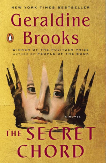 Book cover titled The Secret Chord by Geraldine Brooks