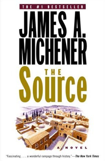 Book cover titled The Source by James Michener