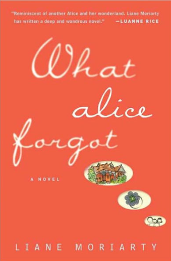 Book cover titled What Alice Forgot by Liane Moriarty
