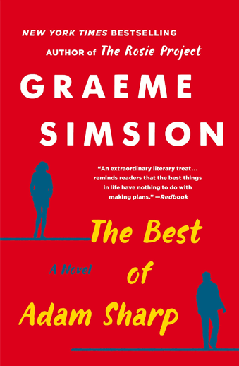 book cover The Best of Adam Sharp a novel by Graeme Simsion