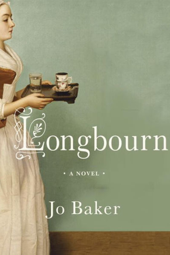 Book cover titled Longbourn by Jo Baker