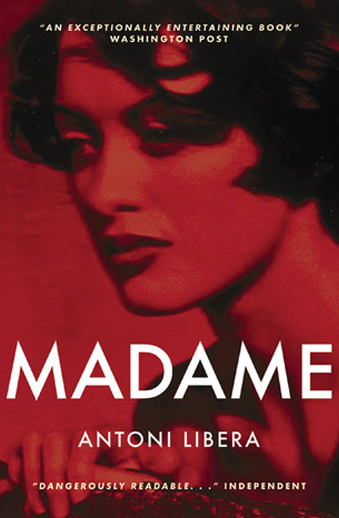 Book cover titled Madame by Antoni Libera